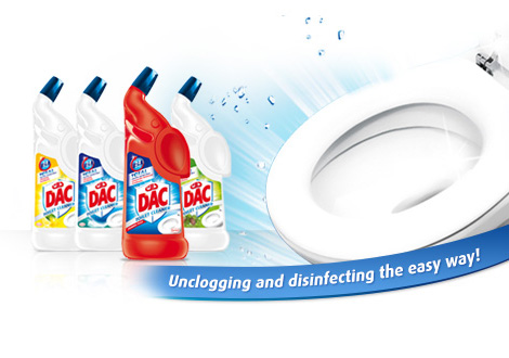 dac toilet cleaner